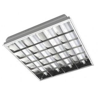 Светильник для LED T8 4*9W ( растровый )